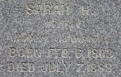 Sarah <i>Hutchinson</i> Johnston