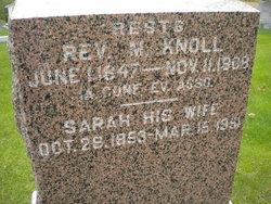 Sarah <i>Auracher</i> Knoll