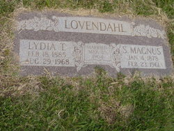 Lydia Adaline <i>Thornton</i> Lovendahl