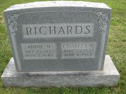 Annie Novella <i>Campbell</i> Richards