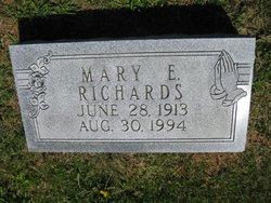 Mary Elizabeth <i>Kibler</i> Richards