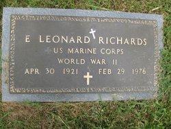 Ernest Leonard Richards