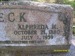 Alfreda Melissa <i>Canaday</i> Beck