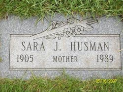 Sarah Julia <i>Desotell</i> Husman