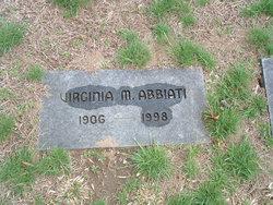 Virginia M Abbiati