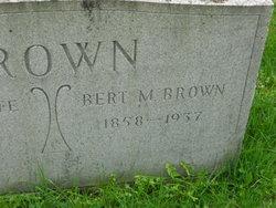 Bert M. Brown