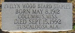 Evelyn Wood <i>Beard</i> Staples