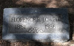 Florence <i>Robinson</i> Lowell