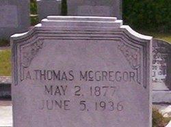 A Thomas McGregor