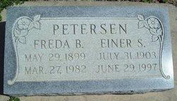 Freda B Petersen