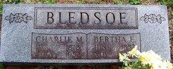 Bertha E <i>Basinger</i> Bledsoe