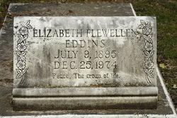 Elizabeth <i>Flewellen</i> Eddins