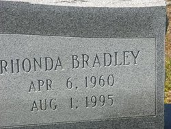Rhonda <i>Bradley</i> Adams