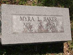 Myra Lee <i>Brown</i> Baker