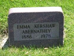 Emma <i>Kershaw</i> Abernathey