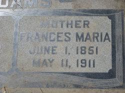 Frances Maria <i>Riley</i> Adams