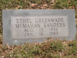 Ethel <i>Greenwade</i> Sanders