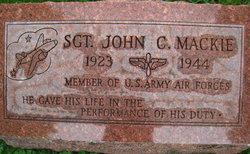 Sgt John Curtis Mackie