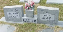 Larty Henry Lanier