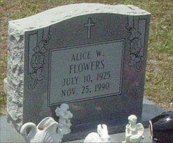 Alice W. Flowers