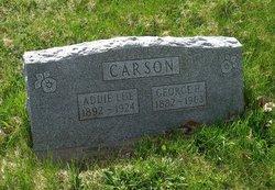 Addie Lue <i>Gordon</i> Carson