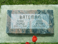 Anna <i>Wilks</i> Bateman