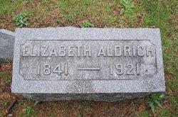 Elizabeth <i>Flegal</i> Aldrich