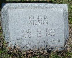 Billie D Wilson