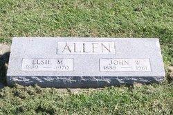 Elsie May <i>Ferneau</i> Allen