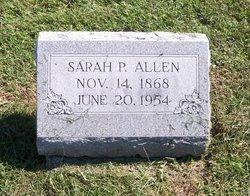 Sarah P. Allen