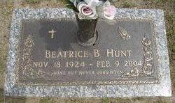Beatrice B Hunt
