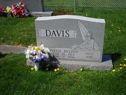 Myrtle <i>Melton</i> Davis