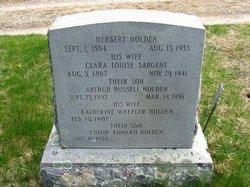 Clara Louise <i>Sargent</i> Holden