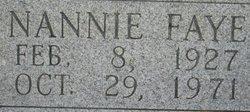 Nannie Faye <i>Raley</i> Fuqua