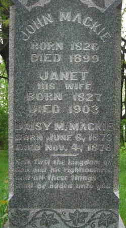 Janet <i>McFadyen</i> Mackie