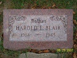 Harold Leroy Blair