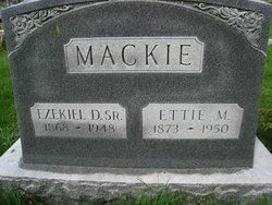 Ettie May <i>Stevens</i> Mackie