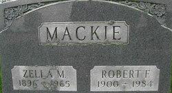 Zella Mae <i>Martin</i> Mackie