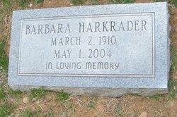 Barbara E <i>Hilton</i> Harkrader