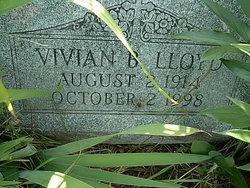 Vivian B <i>Evans</i> Lloyd