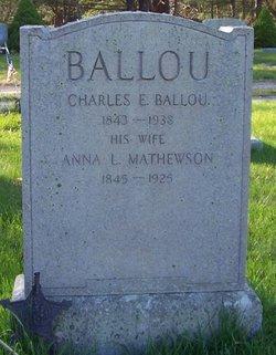 Anna Louisa <i>Mathewson</i> Ballou