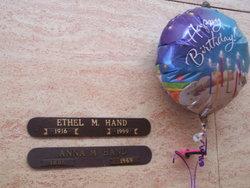 Ethel Mary <i>Tiffany</i> Hand
