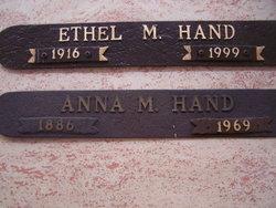 Anna Mae <i>Ream</i> Hand
