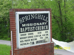 Spring Hill Missionary Baptist Church Cemetery