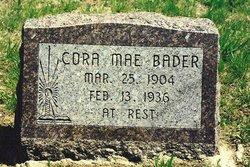 Cora Mae <i>Dawkins</i> Bader