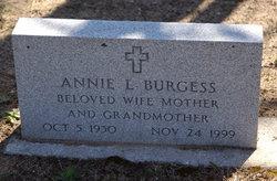 Annie L <i>Dingley</i> Burgess