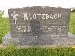 Rev Floyd Klotzbach