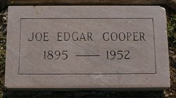Joe Edgar Cooper