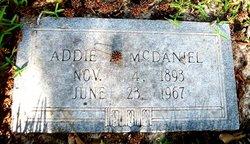 Addie Lee <i>Stevens</i> McDaniel