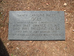 Nancy Caroline <i>Haley</i> Ogle
